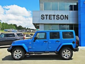 2015 Jeep WRANGLER UNLIMITED Sahara 4dr NAV Heated Seats