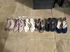 Bundle of shoes size 9