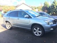Lexus rx300 with 4 new tyres . Perfect car, quick sale