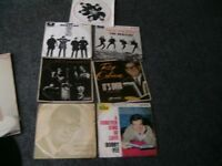 Roling stones,Beatles Roy Orbison,Buddy Holly,X7 EPs