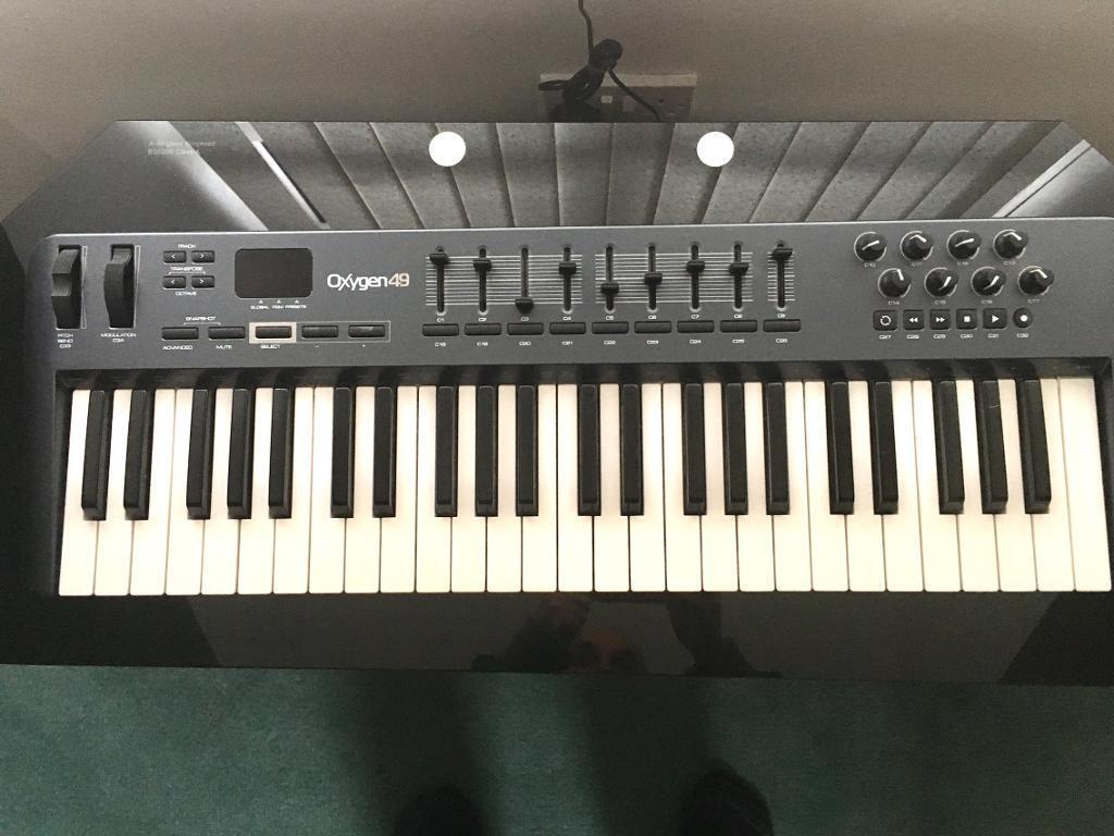 M Audio Oxygen 49 Keyboard In Darlington County Durham