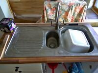 Franke Stainless Steel Sink - £25