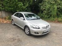 Toyota avensis 1.8 vvti 2006 ONE OWNER FROM NEW