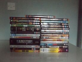 Collection of DVD Films for Sale