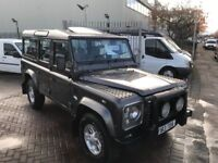 LAND ROVER DEFENDER 110 COUNTY TD5 9 SEAT SUPERB EXAMPLE HIGH SPEC LOVELY COLOUR SUPERB TRUCK!