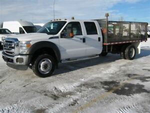 2015 Ford F-550 CHASSIS CAB XLT 4x4 Crew Chassis | 200 WB | 12 F