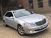 MERCEDES BENZ S320 S CLASS 3.0 CDI LIMO DIESEL AUTOMATIC SALOON LUXURY LONG MOT NOT 7 SERIES ML A8 E