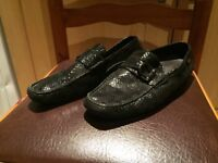 Limited Russell and Bromley Snake skin loafers / Size 42 (8) / Original
