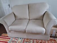 marks and Spencers cream fabric sofas (£100 for 1, £180 for 2)