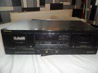Sherwood dd4050c twin tape deck