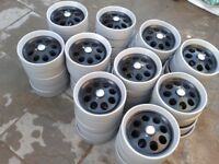 Golf Trolley Wheels, 100 in total, ready for collection