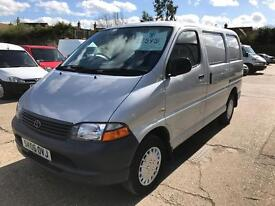 Toyota hiace 280 gs 102bhp 2.5 d4d, only one owner from new!