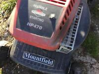 Mountfield HP470 petrol lawn mover