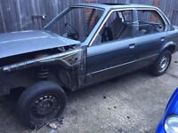 Breaking BMW E30 4 door saloon or take whole Shell