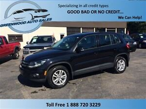 2013 Volkswagen Tiguan 2.0 TSI! AWD! FINANCE NOW!