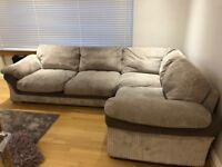 4 seater corner sofa plus swivel chair for sale