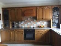Kitchen units ( solid oak)