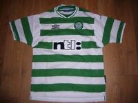 3 x Celtic Umbro Football Top Size Youth