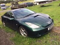 Toyota Celica 1.8 VVTI Breaking For Spares All Parts Available