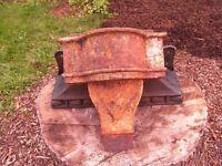 Rain Hoppers - cast iron