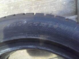 Pair of winter tyres - Toyo SnowProX S953 195/55 R15 89H (Aberdeen)