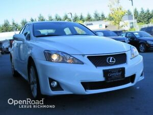 2013 Lexus IS 250 LEATHER AND NAV PACKAGE - Certified