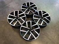 "18 19"" Inch Golf Jurva Style Wheels VW Golf MK5 MK6 MK7 MK7.5 Audi A3 Seat Leon Caddy 5x112"