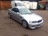 BMW M3 2003/53 facelift convertible manual cabby with hard top may px