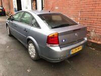 Vauxhall vectra 1.8 petrol reg 2004 mot 8 month