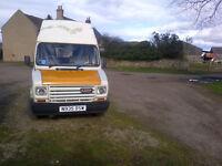 LDV 1.9 Diesel CITY 200 CAMPERVAN very Rare .Registered as Van , some fittings included