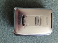 Sony Walkman radio/cassette player