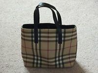 Genuine Burberry handbag, excellent condition
