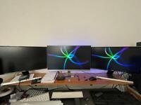 Samsung S24D590L DUAL Monitor Setup (1080P HD)
