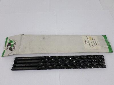 Lot Of 4 Precision Twist Drill .3594 Ptd Hss Thru Coolant Drills