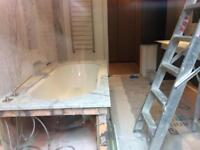 Refurbish. Tilinng. Briclaring. Plastering. Painting. Paving