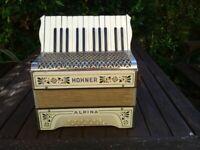 HOHNER 12 BASS PIANO ACCORDION