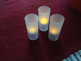 Rechargeable Flickering Candles