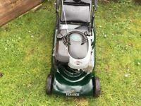Hayter Petrol Lawnmower Rear Roller Self Drive Variable Speed