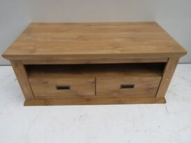 Oak Effect Coffee Coffee Table/TV Stand Great Condition
