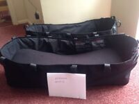 Two Bugaboo Donkey carry cots, superb condition, £50 each. Used for 8 weeks
