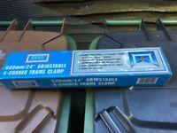 Rolson 600mm adjustable 4 corner frame clamp