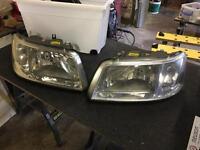 Vw transporter t5 headlights