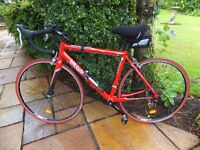 Road Bike - 54cm B'TWIN red Triban 3 bicycle - EXCELLENT CONDITION
