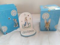 Beatrix Potter collection 2 bookends NEW!