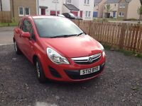 Vauxhall Corsa 1.0 ltr petrol, one owner from new, great economy and low road tax