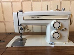Vintage Kenmore Sewing Machine and Table