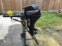 MERCURY MARINER 9.9 hp 4 Four Stroke Outboard Engine SHORT Shaft