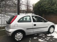 Vauxhall Corsa 2005 77k + sold as spare/reapir tested till sep 2018 + HAS POSSIBLE WATER LEAK