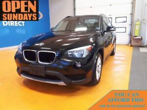 2013 BMW X1 AWD! LEATHER! SUNROOF!