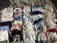42 bodysuits 0-9months